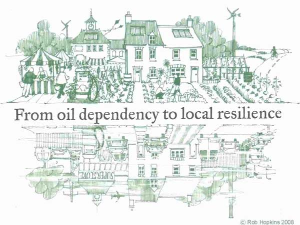 From Oil Dependency to Local Resilience